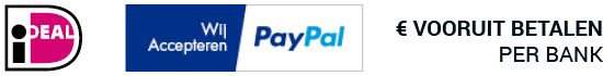 iDeal, PayPal en Vooruit betalen per bank